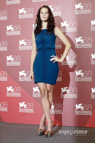 """Kaya Scodelario: """"Wuthering Heights"""" Photocall 68th Venice Film Festival"""