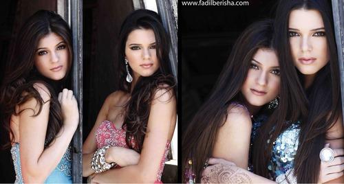 Kendall & Kylie Sherri collina Photoshoot 2011