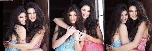 Kendall & Kylie Sherri पहाड़ी, हिल Photoshoot 2011
