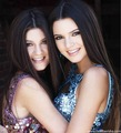 Kendall & Kylie Sherri Hill Photoshoot 2011