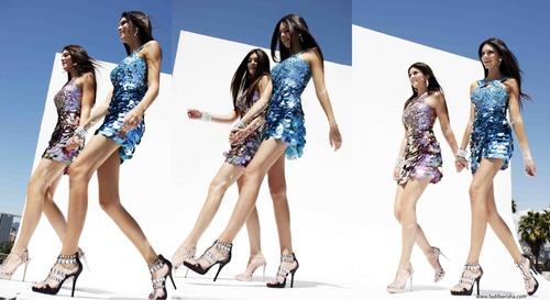 Kendall & Kylie Sherri colina Photoshoot 2011