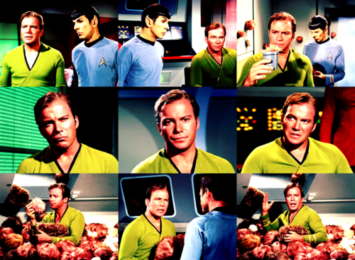 Kirk - The Toruble with Tribbles