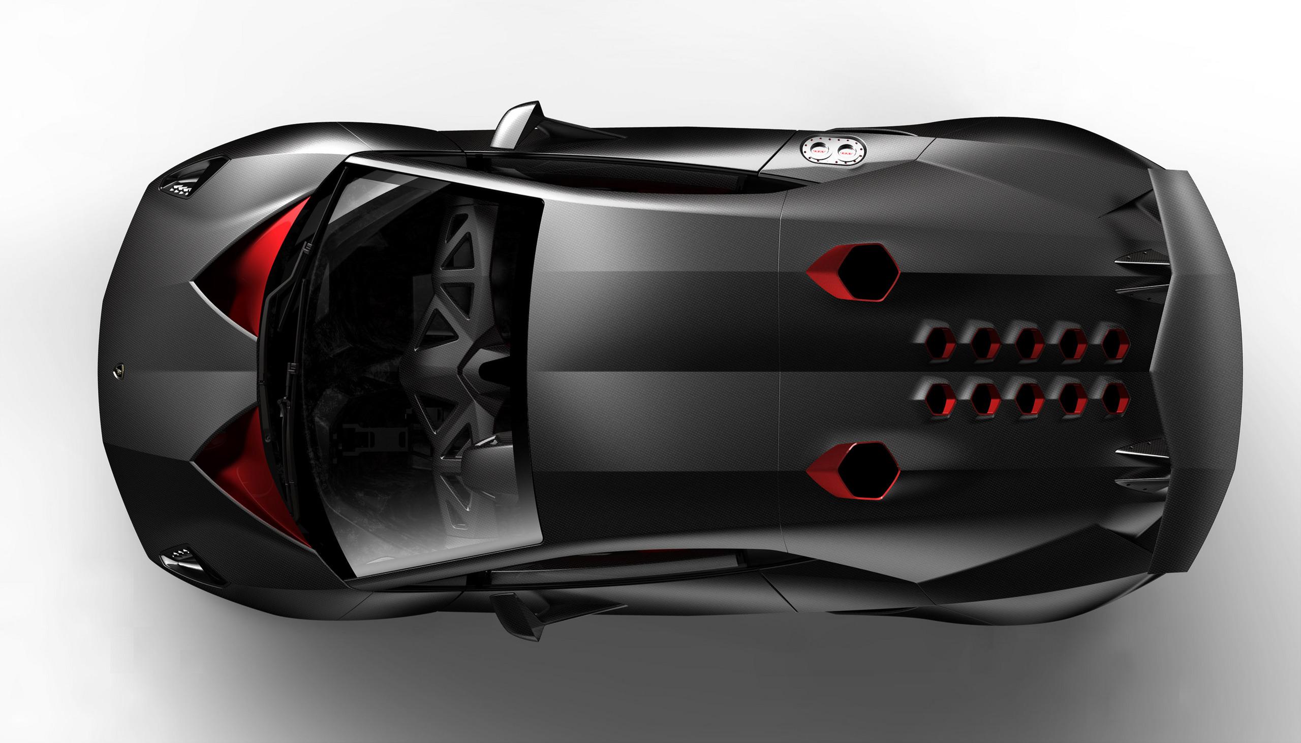 Exotic Cars Lamborghini Sesto Elemento