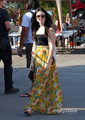 Lily Collins seen out shopping in West Hollywood, Sep 5