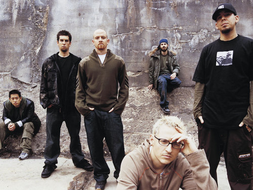 linkin park wallpaper with a fonte called Linkin Park