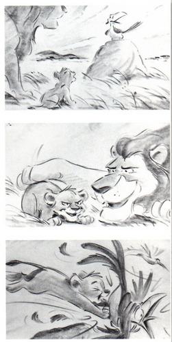 Lion King Story board