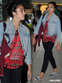 Lourdes Leon and Family arrive at Heathrow Airport in London, Sep 4 - lourdes-ciccone-leon photo