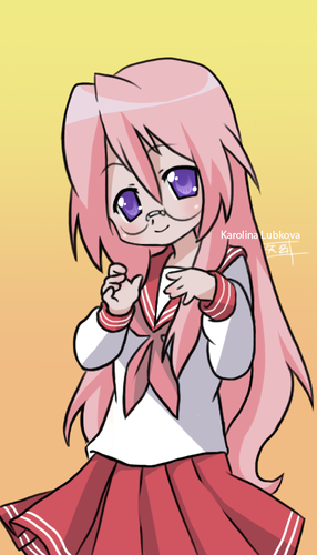 Lucky Star fan art