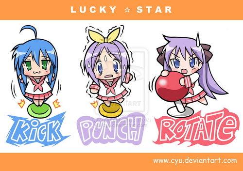Lucky звезда Фан art