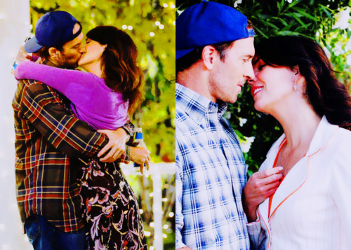 Gilmore Girls fond d'écran entitled Luke and Lorelai ♥