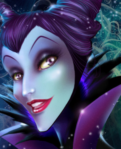 Disney Villains hình nền titled Maleficent