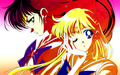 Mars and Venus - sailor-moon wallpaper