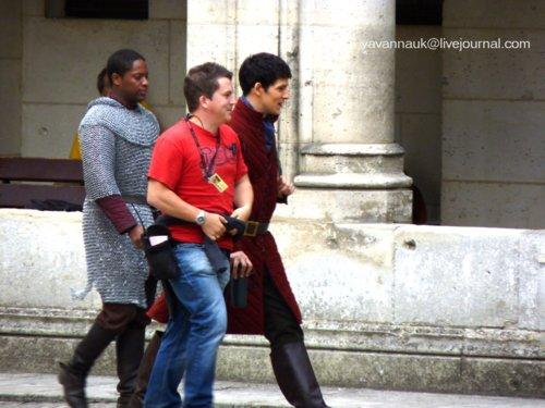 Merlin Cast in Pierrefonds S4