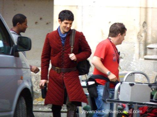 Merlin Cast in Pierrefonds