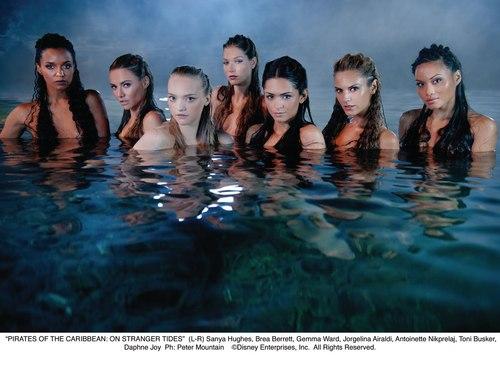 Mermaids from POTC 4