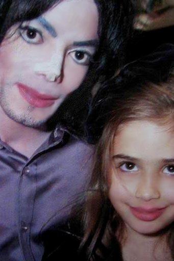 Michael Jackson and Paola