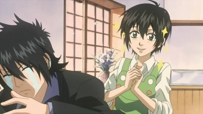 Miharu & Tobari - Nabari no Ou Image (25175901) - Fanpop Nabari No Ou Tobari