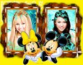 Miley/Hannah wallpapaers by dj ........... - alex-of-wowp-vs-hannah-of-hm photo