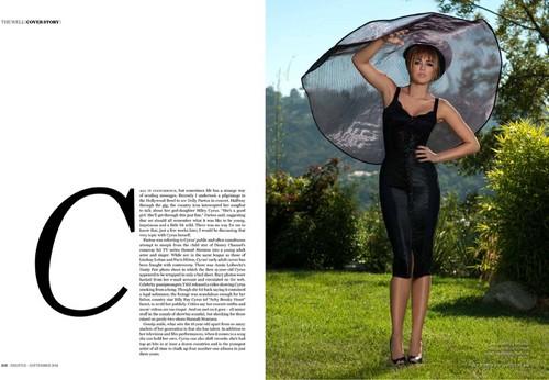 Miley - Magazines Scans - Prestige Magazine (September) 2011