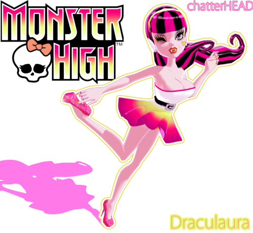 Monster High karatasi la kupamba ukuta containing anime entitled Monster High 3D