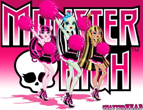Monster High karatasi la kupamba ukuta with anime called Monster High 3D