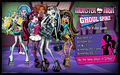 Monster High Ghoul Spirit Video Game kertas dinding 2