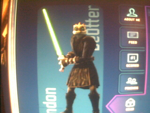 My bintang Wars OC (New Jedi Look)