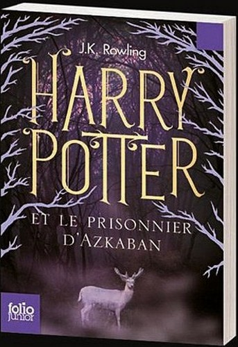 New French Harry Potter buku Covers
