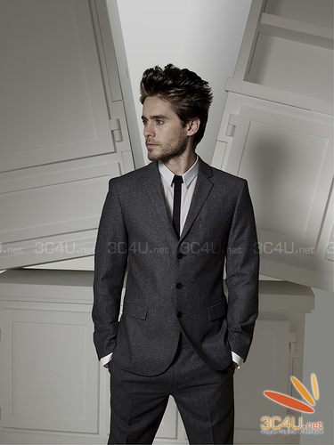 Jared Leto wallpaper with a business suit, a suit, and a single breasted suit called New Hugo Boss Pics