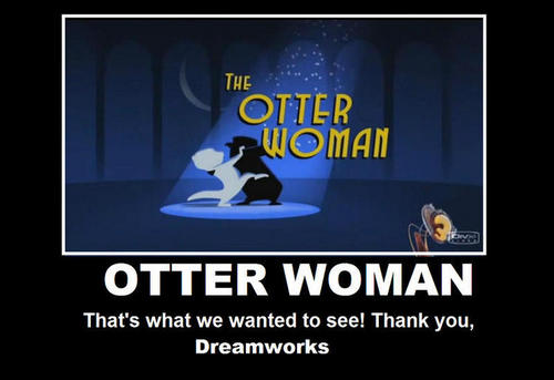 otter WOMAN