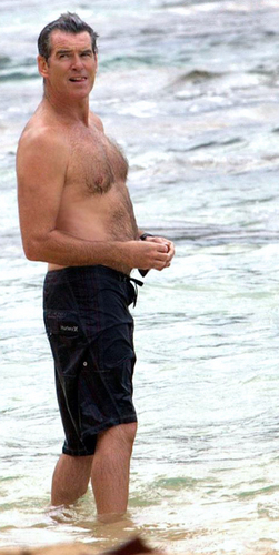 PIERCE BROSNAN SHIRTLESS 6