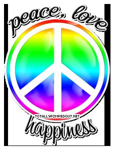 Peace & amor Revolution foto