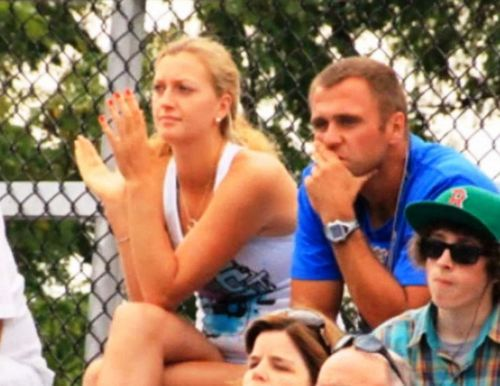 Petra Kvitova remained in New York with his young sweetheart Adam: Baby fight!