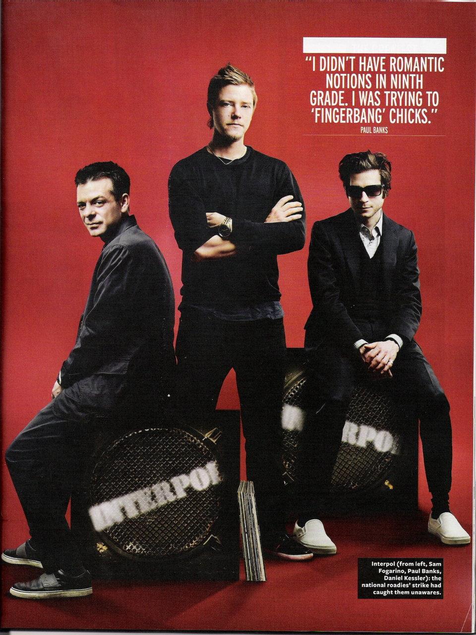 Q Magazine , September 2011 , Interpol photo (25100151) , fanpop