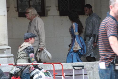 퀸 Guinevere and Sir Elyan and Beloved Gaius