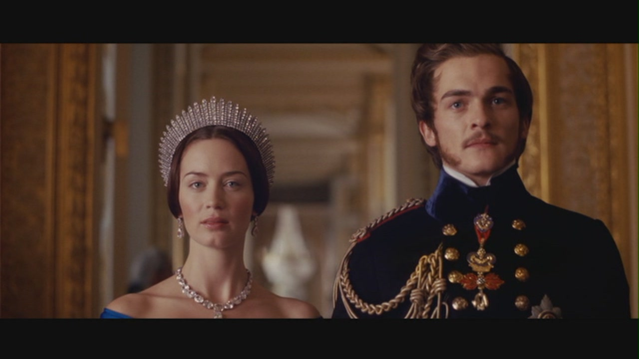 "Queen Victoria & Prince Albert in ""The Young Victoria"""