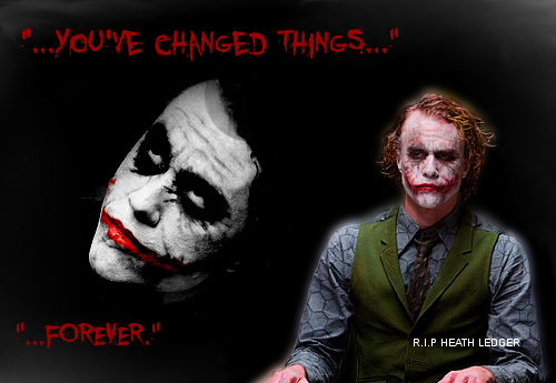 R.I.P Heath Ledger