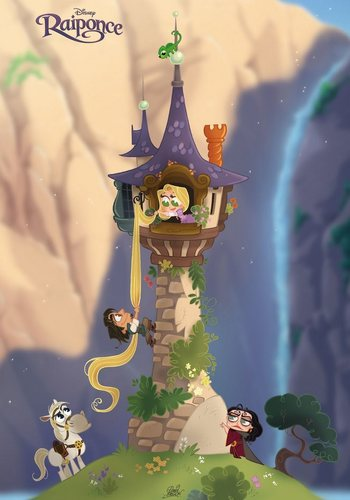 Rapunzel Let down your hairrr!!!