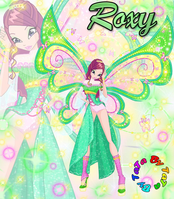 Winx Club hình nền entitled Roxy