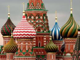Russian Onion-Dome Churches