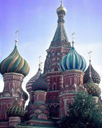 Russian kubah bawang Churches