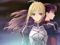 fate-stay-night - Saber & Rin wallpaper