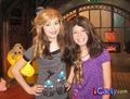 Sam & Carly wearing wigs