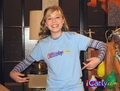 Sam wearing her iCarly t-Shirt
