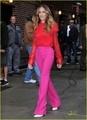 Sarah Jessica Parker Brightens Up 'Letterman' - sarah-jessica-parker photo