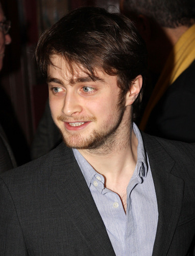 daniel radcliffe fondo de pantalla containing a business suit and a suit called Sardi's Caricature Award (01.29.09) (HQ)