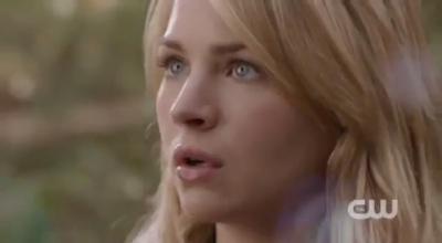 The Secret Circle (TV Show) wallpaper containing a portrait titled Screencaps: Britt talks Cassie Blake