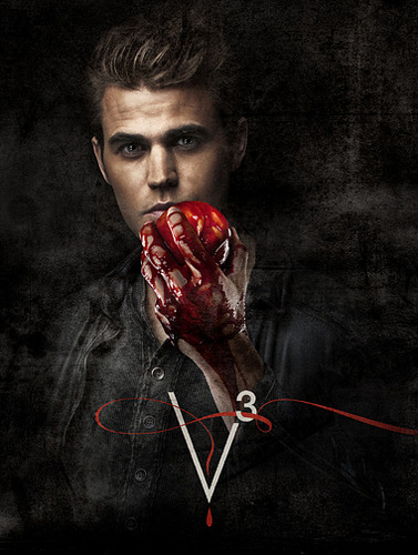 Stefan & Elena fondo de pantalla entitled Season 3 Promo Picture