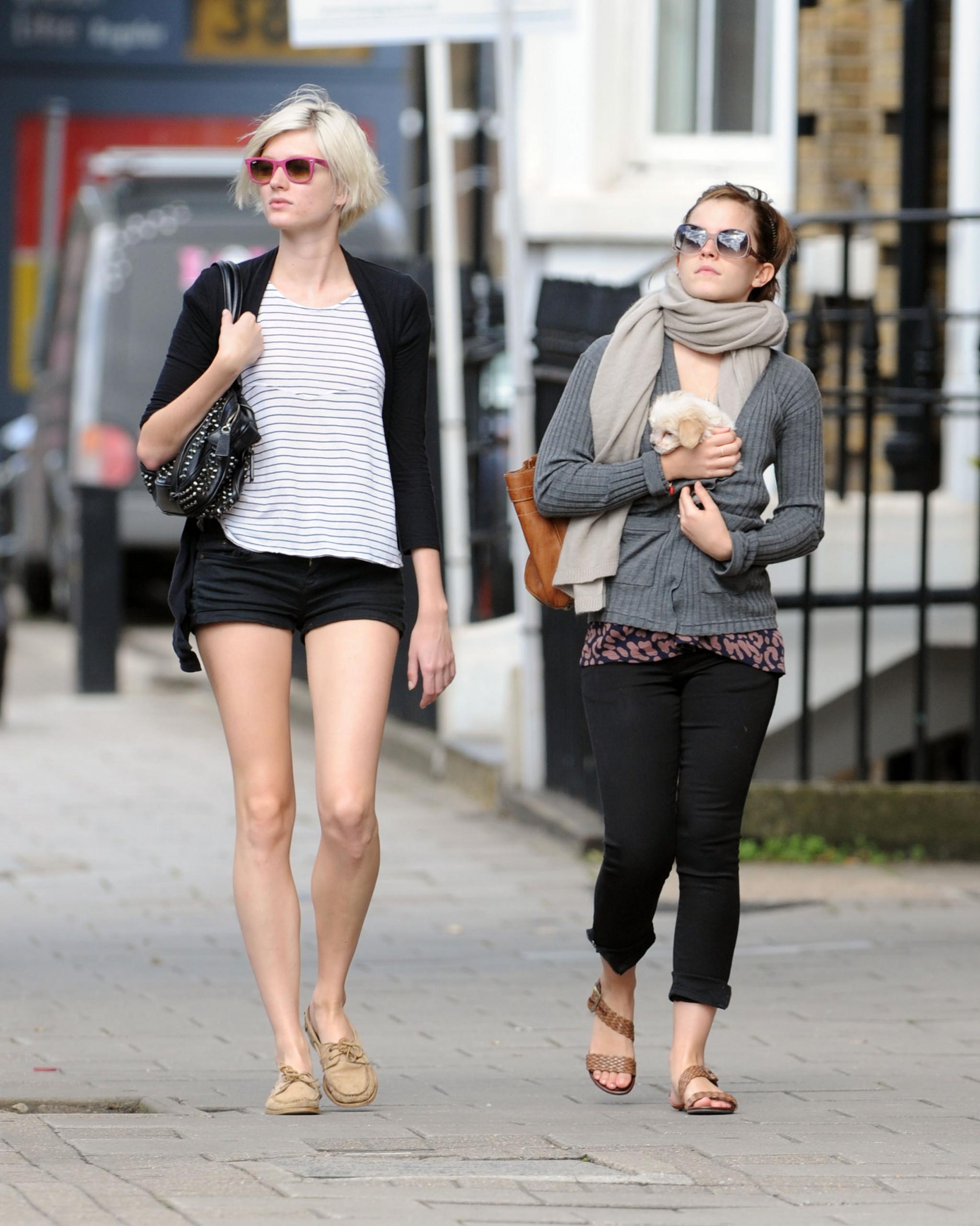 Emma Watson Playing With