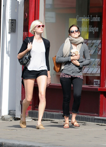 September 5 - Walking with her Friend in London